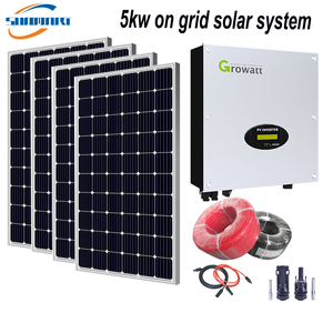 5KW On Grid Solar System