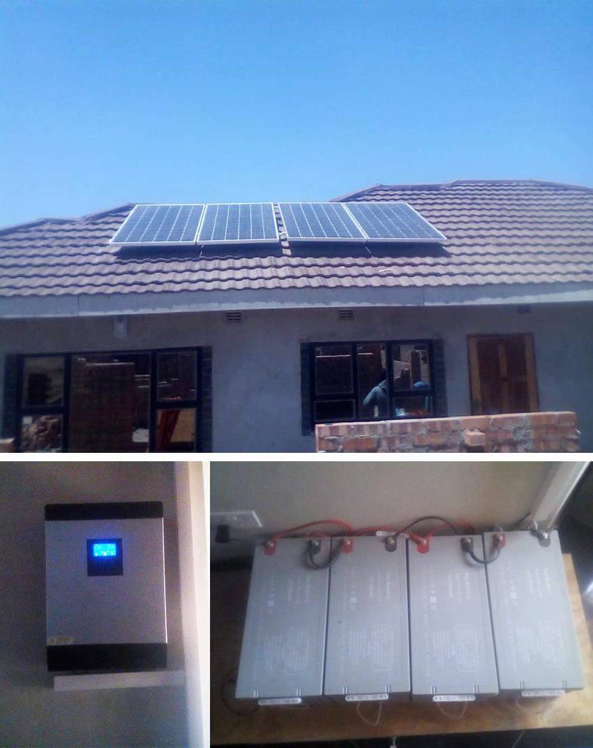 3kva Off Grid Solar System In Zimbabwe Foshan Sunmart