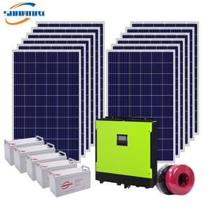 10KW On/Off Grid Solar System