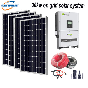 30KW On Grid Solar System