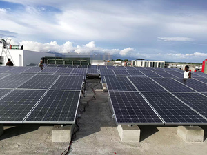 30kW off grid solar power system in Papua New Guinea