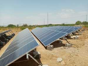 11kW and 15kW solar water pump system in Jordan