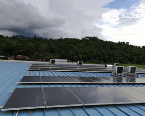 30kW off grid solar system in Papua New Guinea